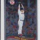 Hideo Nomo Base Card 2002 Topps Chrome #210 Red Sox