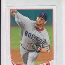 Ryan Dempster MLB Mini Exclusive Baseball Card 2013 Topps #401 Red Sox