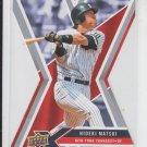 Hideki Matsui Die Cut 2008 Upper Deck X #67 Yankees
