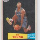 Nick Young 57-58 Variation Insert 2007-08 Topps #126 Wizards