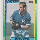 George Brett Box Topper Cut Out 1990 Topps #B Royals