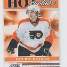 Ben Holmstrom Hot Rookies 2011-12 Score #530 Flyers