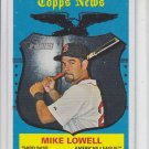 Mike Lowell Topps News SP 2008 Topps Herttage #486 Red Sox