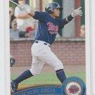 Oswaldo Arcia Prospect Trading Card 2011 Topps Pro Debut #15 Twins