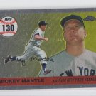 Mickey Mantle Home Run History 2007 Topps Chrome #MHRR130 Yankees