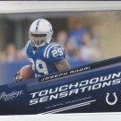 Joseph Addai Touchdown Sensations Insert 2010 Panini Prestige #6 Colts