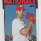 Gio Gonzalez Baseball Trading Card 2014 Topps Archives #134  Nationals
