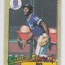 Bo Jackson Rookie Card Future Star 1987 Topps #170 Royals QTY