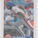 Ryan Thompson Rookie Card 1993 Donruss #242 Mets RR QTY