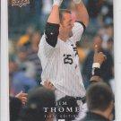 Jim Thome Baseball Trading Card 2008 Upper Deck Series 1 #287 White Sox