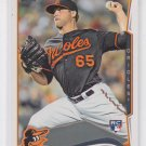 Mike Belfiore Baseball Trading Card 2014 Topps Series 2 RC #516 Orioles