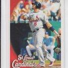 Albert Pujols Baseball Card 2010 Topps #100 Cardinals Angels