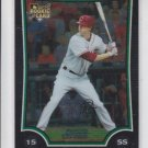 Jarrett Hoffpaur Rookie Card 2009 Bowman Chrome Draft #BDP35 Cardinals