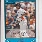 Justin Upton Futures Game 2007 Bowman Draft Picks #BDPP110 Braves