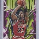 Michael Jordan Basketball Card 1996-97 Skybox Z Force #11 Bulls Sharp!
