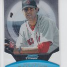 Anthony Renaudo Die Cut 2011 Bowman Chrome #7 Red Sox