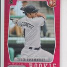 Tyler Pastornicky Prizm Red Refractor RC 2012 Panini #164 Braves