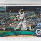 Ichiro Suzuki Baseball Card 2011 Topps Series 1 #200 Yankees Mariners