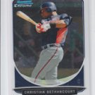 Christian Bethancourt Prospect Card 2013 Bowman Chrome Draft #BCP72 Braves QTY