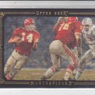 Ed Podolak Black Framed Parallel 2008 Upper Deck Masterpieces #30 Chiefs