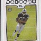 Darren McFadden Rookie Card 2008 Topps RC #346 Raiders