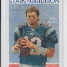 Tom Brady Stars Gridiron 2009 Topps National Chicle #SG16 Patriots