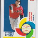 Phillippe Aumont WBC Stars 2009 Topps #BCS21 Phillies Team Canada