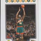 Sam Perkins Gold Parallel 2008-09 Topps #182 Supersonics