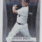 George Brett Baseball Trading Card 2012 Panini Prizm #144 Royals