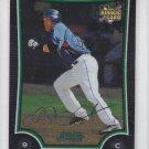 Omir Santos Rookie Card 2009 Bowman Chrom Draft #BDP42 Mets