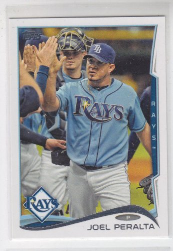 Joel Peralta Baseball Trading Card 2014 Topps Series 1 #236 Rays