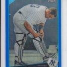 Jorge Posada Blue Refractors SP 2009 Topps Chrome #101 Yankees 119/199 RARE!