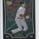 Aaron Bates Rookie Card 2009 Bowman Chrome Draft #BDP37 Red Sox