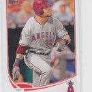 Josh Hamilton Baseball Trading Card 2013 Topps Series 2 #639 Angels