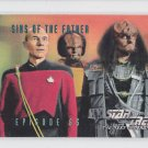 Sins of the Father EP 65 1995 Skybox Star Trek The Next Generation #282 *ED