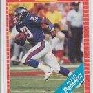 Sheldon White Rookie Card 1989 Pro Set #532 Giants