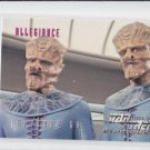 Allegiance Ep 66 1995 Skybox Star Trek The Next Generation #285 *ED