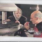 Allegiance Ep 66 1995 Skybox Star Trek The Next Generation #283 *ED