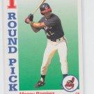 Manny Ramirez Rookie Card 1992 Score #800 Indians Red Sox