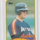 Craig Biggio Rookie Card 1989 Topps #49 Astros
