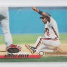Albert Belle Baseball Trading Card 1992 Topps Stadium Club #102 Indians