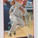 Justin Upton Baseball Trading Card 2009 Topps #230 Diamondbacks Braves