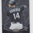 Paul Konerko Baseball Trading Card 2010 Topps Finest #68 White Sox