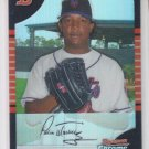Pedro Martinez Refractors Parallel 2005 Bowman Chrome #138 Mets Sharp!