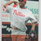 Michael Bourn RC Star Rookie Card 2003 Upper Deck #48 Phillies Indians