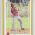 Zach Gentile Gold Refractors SP 2010 Bowman Chrome #BCP62 Red Sox 06/50