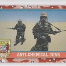 Anti-Chemical Gear Trading Card 1991 Topps Desert Storm Series 2 #171