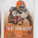 Trent Richardson Football Trading Card 2013 Panini Prestige #49 Browns