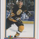 Ken Hodge RC Hockey Trading Card 1990-91 Bowman #362 Bruins