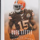 Greg Little Football Trading Card 2013 Panini Prestige #46 Browns